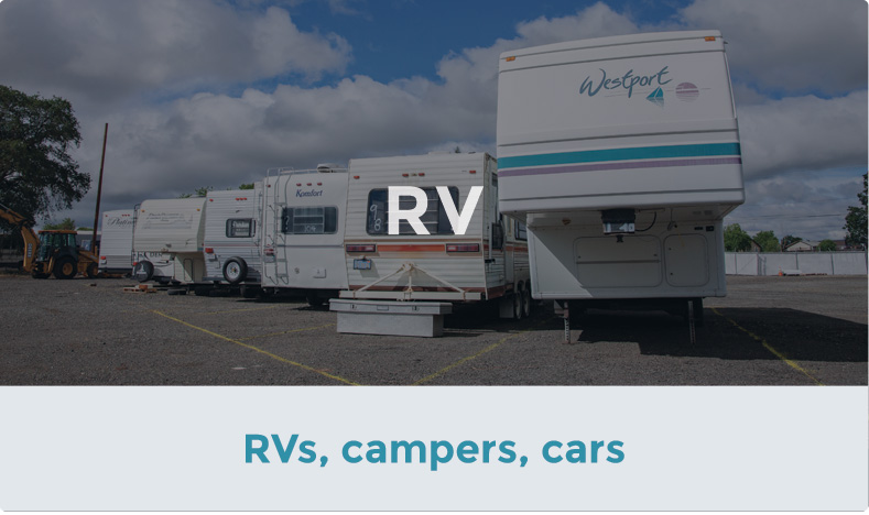 Store your RV with ACT Storage